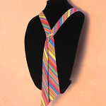 Same tie as shown in curved display